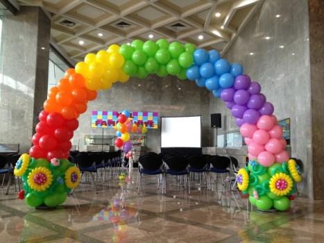 Customised Balloon Arch