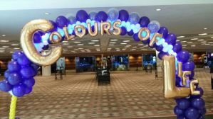 Balloon Arch with LED Lights