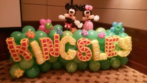 Mickey Mouse Balloon Decoration