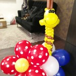 Balloon Giraffe Display Decoration