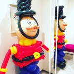 Balloon Nutcracker Sculpture