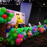 Stage Balloon Decorations