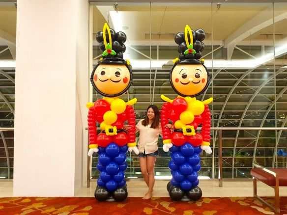 Giant Balloon Nutcracker Sculptue