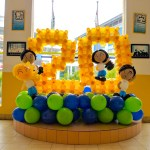 Balloon Number Display Decoration
