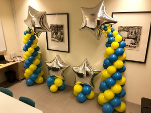 Balloon Star Decorations