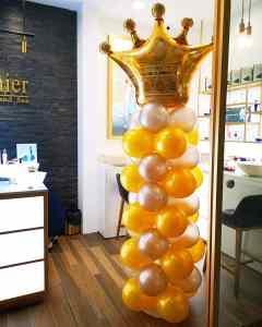Crown Balloon Pillars