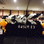 Balloon Clapper Backdrop Decorations