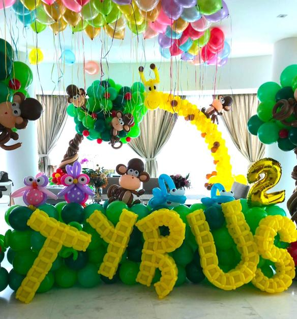 Party Balloon Decorations Singapore