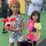Balloon Sculpting at Marina Bay Carnival