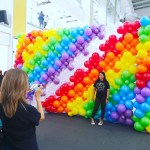 Rainbow Balloon Backdrop Singapore