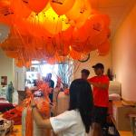 Printed Helium Balloon Delivery