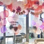 Organic Balloon Decoration Birthday Party