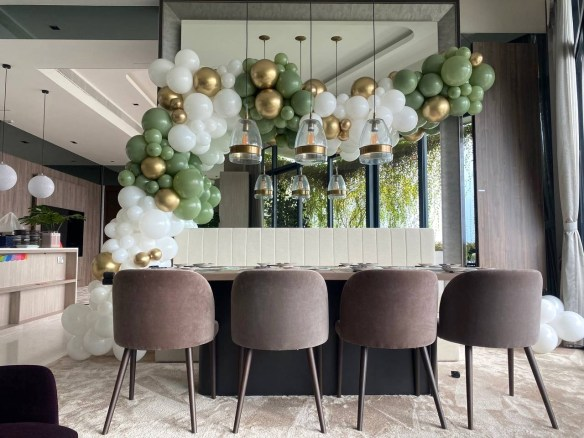 Organic Balloon Decoration for Party Singapore