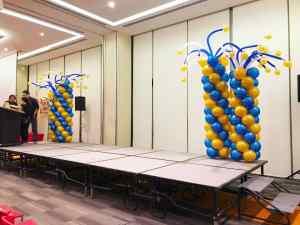 Stage Balloon Columns Decorations