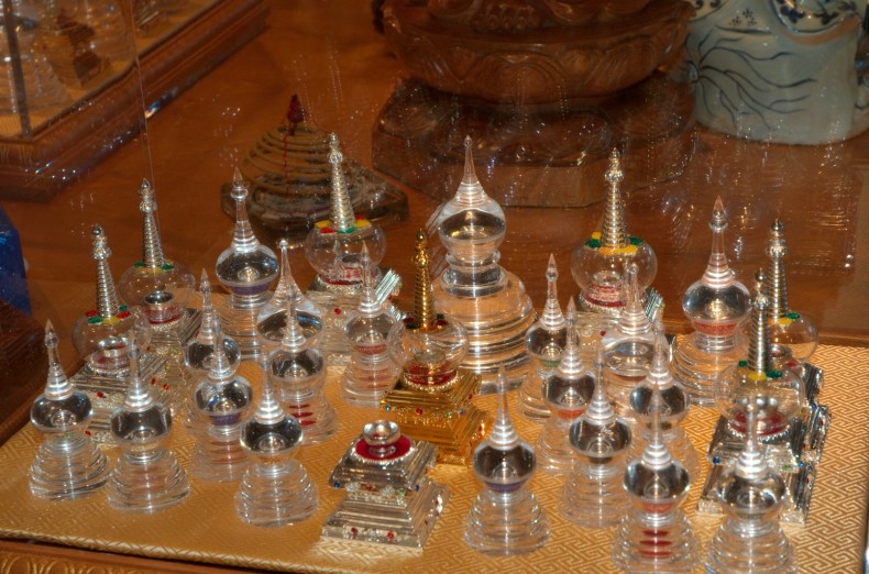 Holy Relics Display
