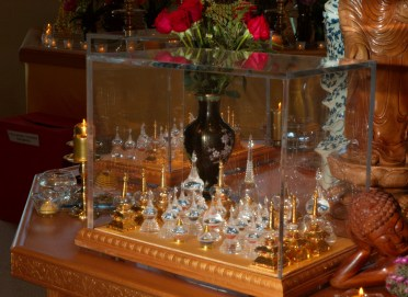 Holy Relics on Display