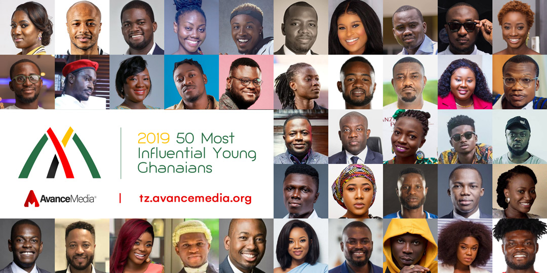 Finalists for 2019 50 Most Influential Young Ghanaians