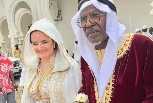 Alpha Blondy marries Tunisian Beauty Aelyssa