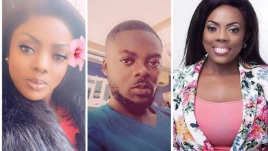 Nana Aba Anamoah's 'Twin Brother' Suddenly Pops Up – Photos