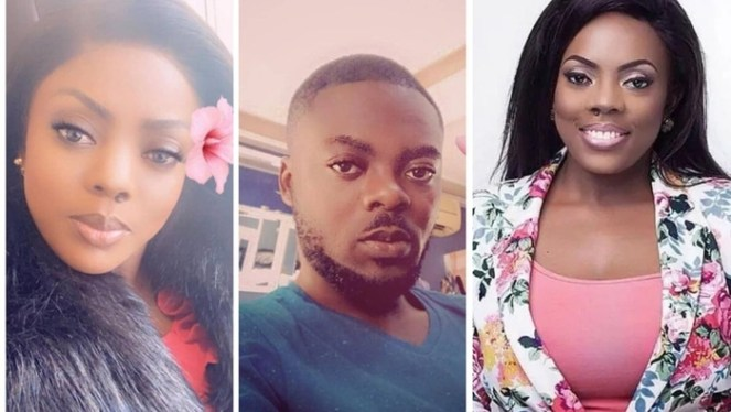 Nana Aba Anamoahs Twin Brother Suddenly Pops Up
