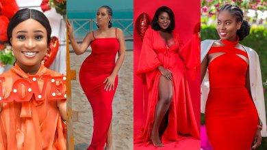 How Ghanaian female celebrities mark