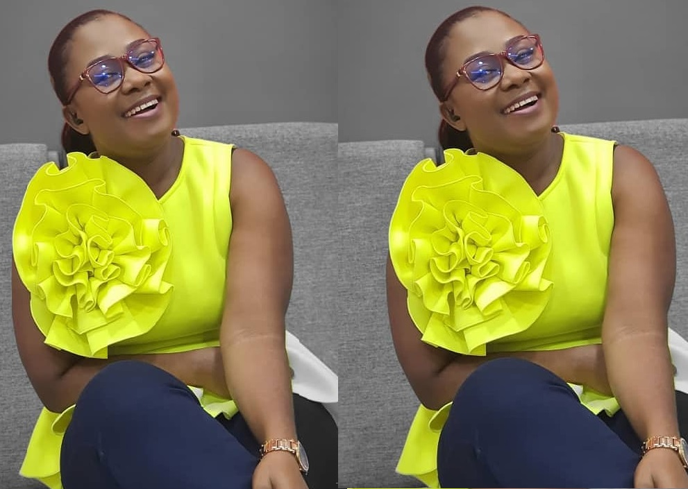 Adom TV/FM's Afia Amankwah Tamakloe Shares Unseen Photo With Her ...