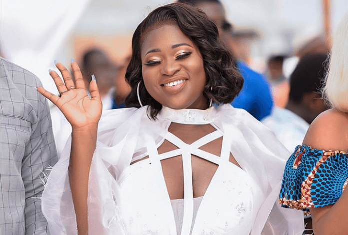 What Sista Afia wore to Medikal, Fella Makafui's traditional wedding