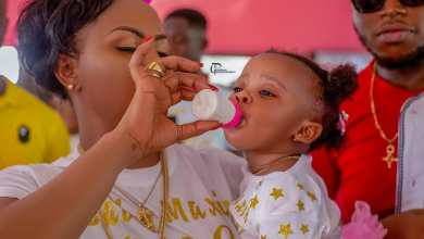 Nana Ama Mcbrown shows off Baby Maxin's bedroom