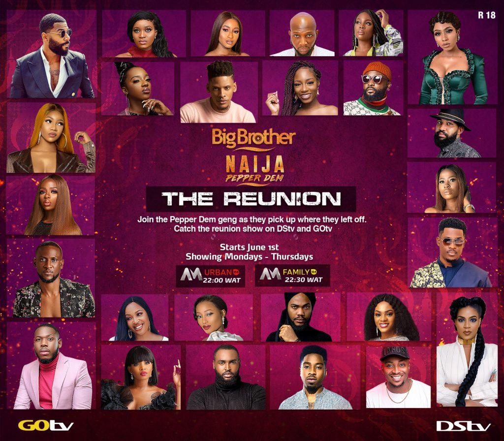 Big Brother Naija Pepper Dem Reunion show