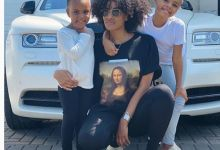 Photo of Footballer Dede Ayew's Wife & Kids