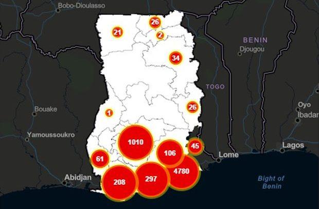 Ghana Covid19 Cases
