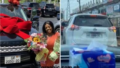 DVLA investigates Nana Aba's Range Rover gift