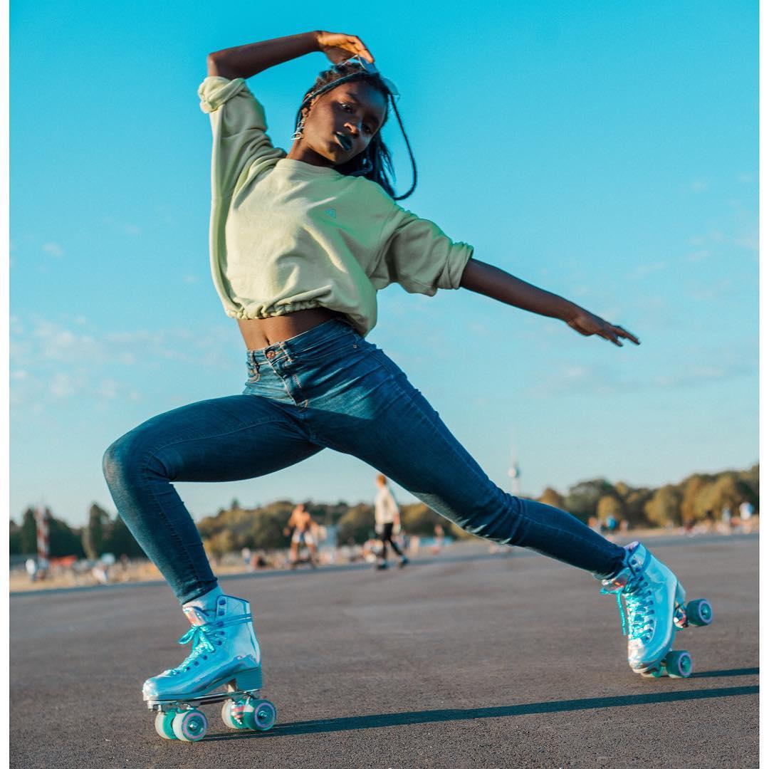 Roller Skater Oumi Janta