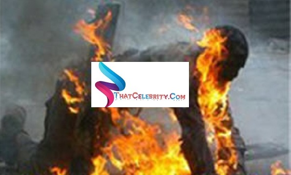Man Sets Self On Fire After Getting Ditched By Baby Mama