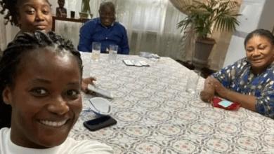Edwina Akufo-Addo and Funmi Akufo-Addo