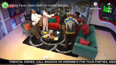 Funny Face and Lil Win trade blows on live Tv