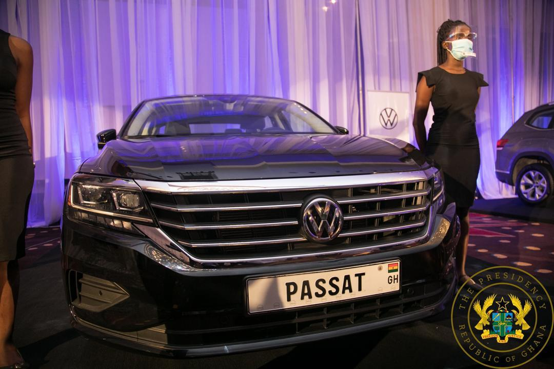 Volkswagen vehicles assembled in Ghana