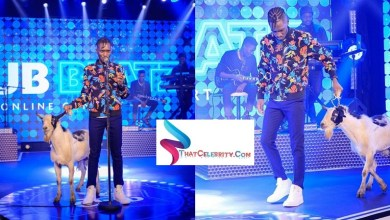 A Pass Explains Why He Came With a Goat on Stage During Club Beatz At Home Online Concert