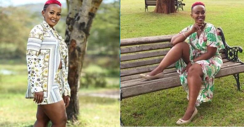 Kenyan woman, Jackline Njoki Mwangi