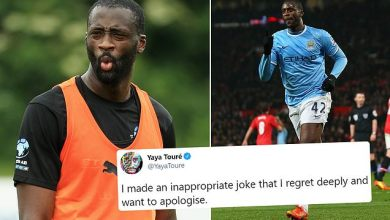 Yaya Touré drop pornographic