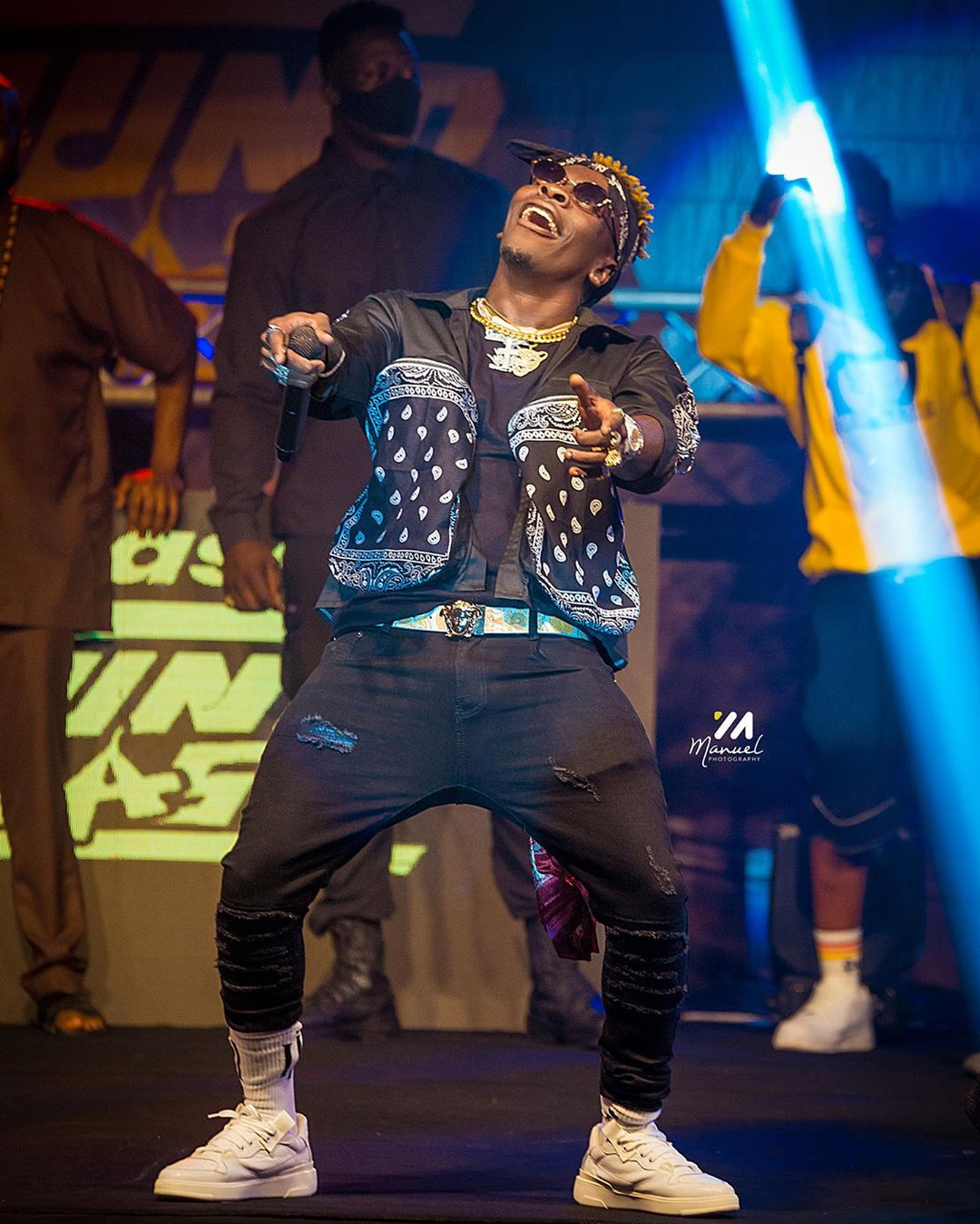 How Shatta Wale and Stonebwoy Fired Each Other At Asaase Sound Clash