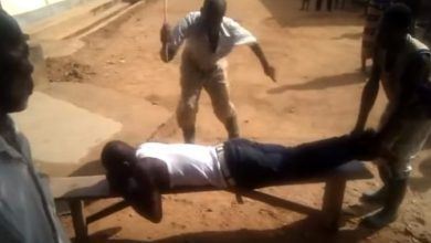 Man Hangs on a Rope After Getting Strokes From Clan Members Over Excessively Drinking Alcohol