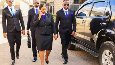 Meet Kenya's sexist Reverend Lucy Natasha; Goes around with more than 20 bodyguards