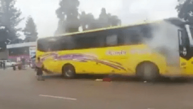 Seven police officers arrested for firing teargas inside bus full of passengers