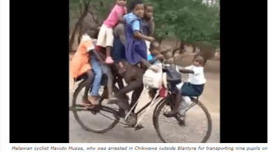 Man arrested for transporting 9 kids on a bicycle to preschool, sponsors did this for him