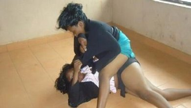 Chaos as woman goes berserk after her 'sister' confessed to having an affair with her husband