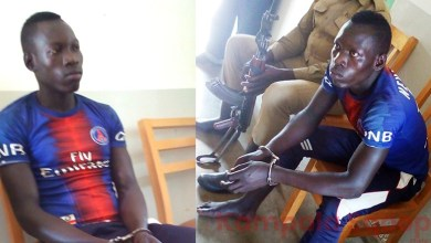 19 Year Old Man Caught Red-Handed Chewing a 17 Year Old Girl, Dragged to Police