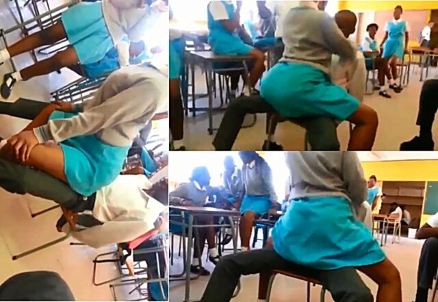 Another sexual video of student lap-dancing in class goes viral