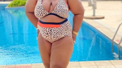 Don't come for me Eniola Badmus warns as she poses in bikini