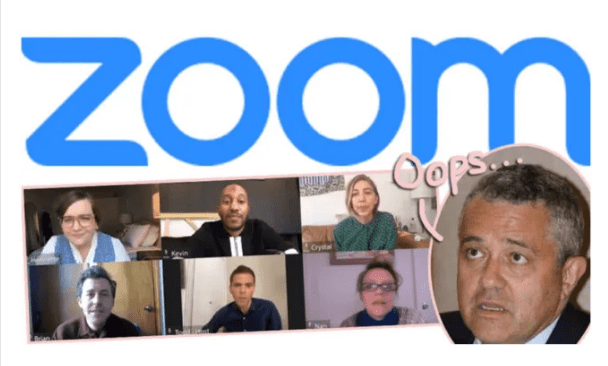 Shame as CNN analyst caught m_sturbating during zoom meeting